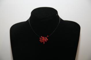 Constellation bambou de mer teinté rouge