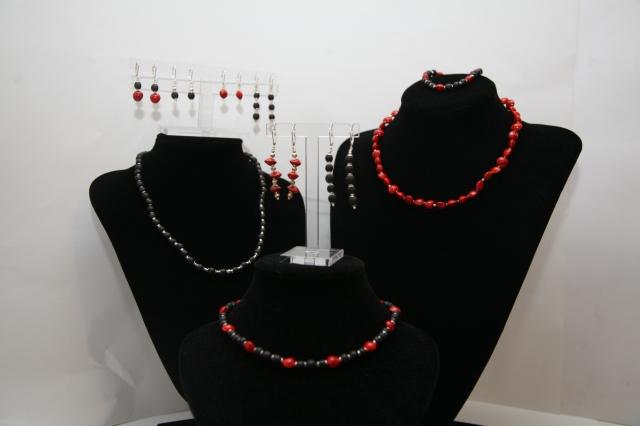 En rouge et noir