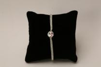 Bracelet de mariée ou de demoiselle d'honneur, strass Swarovski