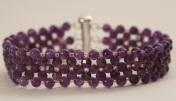 bracelet améthystes