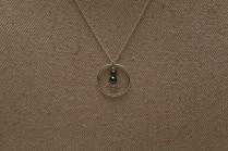 Collier Cercle hématite
