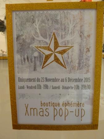 Affiche Xmas Pop-up